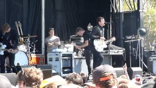 """Angel's & Airwaves """"Saturday Love"""" @ Live 105's BFD (Green Day's Mike Dirnt) on June 2, 2012"""