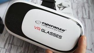 VR 3D [Очки] Виртуальная Реальность - VR Box Esperanza Glasses. Недорогой Гаджет Который Пригодится