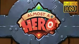 Almost A Hero Game Review 1080P Official Bee Square Games