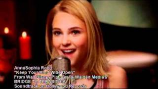 Clipe: Keep Your Mind Wide Open - AnnaSophia Robb