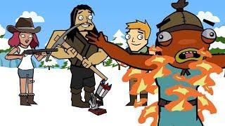 Driftboards & Apex Legends | The Squad (Fortnite Animation)