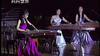 古箏、雙箏伴奏:月兒高 Traditional GuZheng music: The Cresting Moon