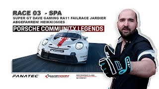Race Room - Porsche Community Legends - RACE 03