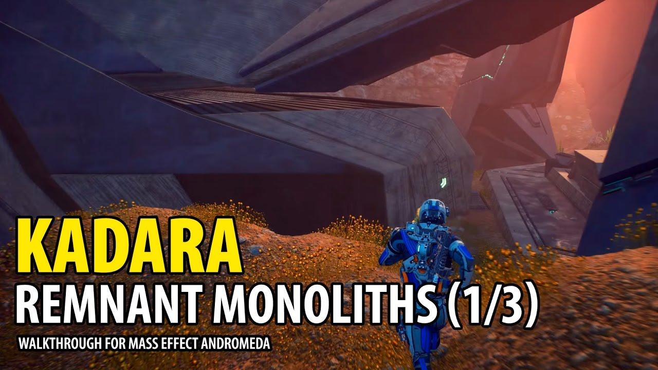 Kadara Map Walkthrough Guide | Mass Effect Andromeda | game