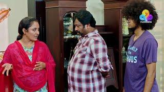 Uppum Mulakum - Neelu Starting New Business │Flowers│EP# 589