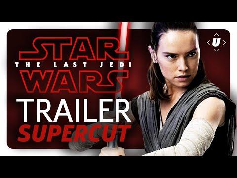 Star Wars: The Last Jedi Trailer Supercut!