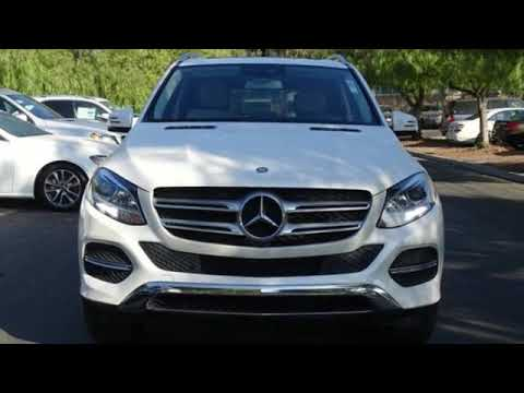 Certified 2017 Mercedes-Benz GLE San Francisco San Jose, CA #33869