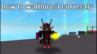 "Roblox  Parkour | How to wall boost up to 6 times and ""wallkick"" (long jump on a wall)"