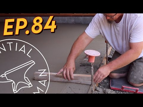 The Secret to Finishing Concrete Ep.84