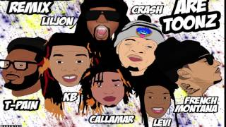 WE ARE TOONZ   DROP THAT #NAENAE REMIX FEAT LIL JON, TPAIN, & FRENCH MONTANA