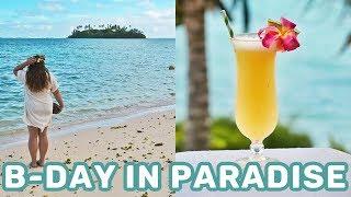 Birthday In Rarotonga & Muri Night Market | Cook Islands Travel Vlog