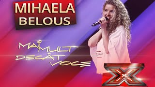 "Mihaela Belous - Christina Aguilera - ""Nasty naughty boy"" - X Factor"