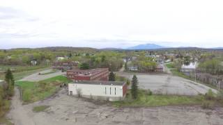 Millinocket, ME - Mill Site Drone Footage - May 14, 2017