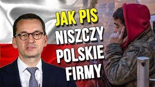 Jak PIS Niszczy Polskie Firmy a Pieniądze z Podatków Dostają Korporacje – Analiza Komentator Bank PL