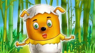Щенки Бублик и Кисточка - мультики для детей. Семейка Собачек - мультики для малышей. Подборка серий