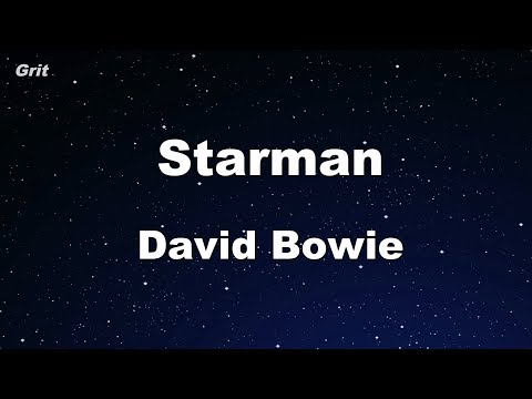 Starman - David Bowie Karaoke 【No Guide Melody】 Instrumental