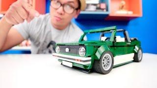 LEGO 10242 Alternative Build Part 1   Volkswagen MK1 Cabriolet