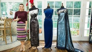 DIY: No-Sew Sequin Gown! - by Orly Shani