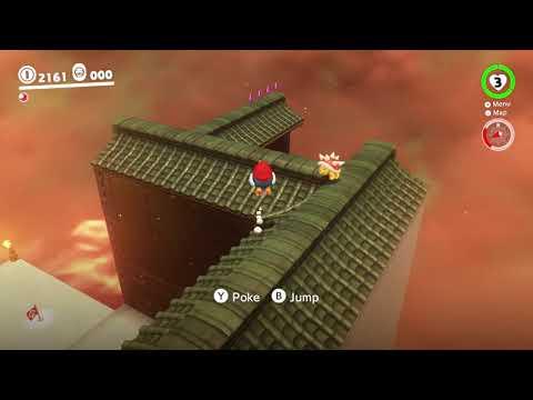Super Mario Bowsers Shinedown Walkthrough Super Mario Odyssey
