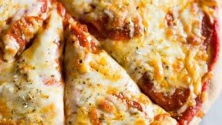Тесто для пиццы     Домашняя пицца в духовке