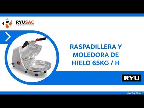 Raspadillera y Moledora de Hielo 65kg/h • RYUSAC