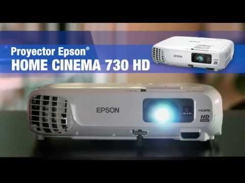 Proyector Epson Home Cinema 730HD