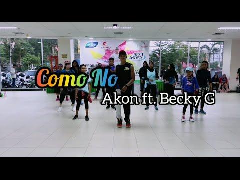 Akon - Como No ft. Becky G   ZUMBA   FITNESS   At Mall Gajah Mada Balikpapan