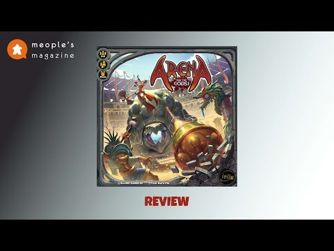 Arena for the Gods! Review by Meople's Magazine