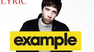 Take Me As I Am - Example (lyrics)