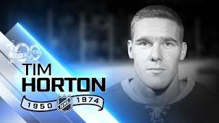Tim Horton had legendary strength, anchored Toronto D