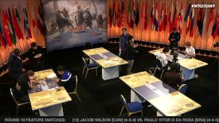 World Championship 2014 Round 10 (Draft): Paulo Vitor Damo da Rosa vs. Jacob Wilson