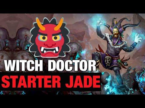 Witch Doctor Starter Build Season 17 Diablo 3 Patch 2.6.5 Jade