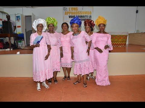 Soirée de levée de fonds de « l'ONG Appohosombo » pour les veuves de Duekoué à Paris.