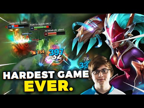 DAY 56 - THE HARDEST CHALLENGER GAME I'VE EVER PLAYED... (ft. Sneaky)