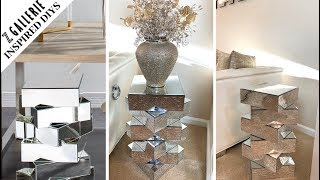 ZGallerie Inspired DIY || Venture Mirrored Accent Table|| New For 2020