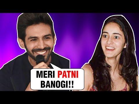 Lovebirds Kartik Aaryan And Ananya Pandey Come Tog