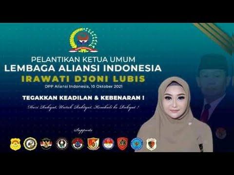 Pelantikan Ketua Umum Lembaga Aliansi Indonesia, Minggu 10-10-2021 (All)