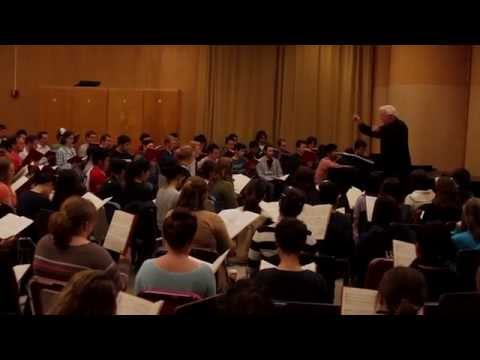 Here I speak about performing the Soprano Solo in the Britten War Requiem at IU in 2014.