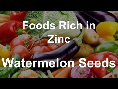 Watermelon seeds and zinc Report