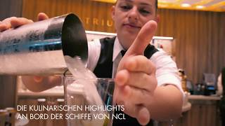 Norwegian Cruise Line: Kulinarische Highlights