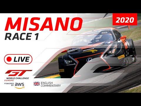 2020年 ブランパンGTシリーズ(ミサノ) レースライブ配信動画