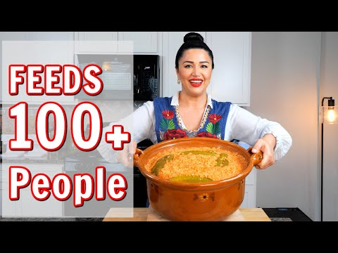 HOW TO MAKE MEXICAN RICE RECIPE FOR LARGE GROUPS