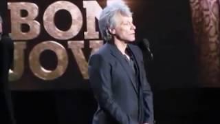 2018 Rock & Roll Hall of Fame BON JOVI Complete Induction Speech