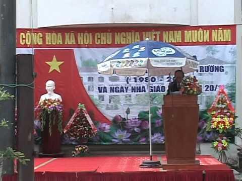 Lễ kỉ niệm 35 năm THPT Lê Lợi - Phú Yên (P3)