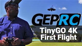 GEPRC TinyGO Setup & 1st Flight | A first time FPV Pilot's Perspective (Pt.2)
