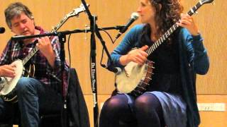 Nobody's Fault But Mine - Abigail Washburn & Bela Fleck at Dartmouth College 16 Oct 2013