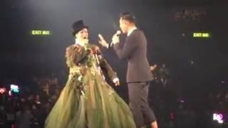 古天樂做鄭秀文最後一場個唱嘉賓,對話非常搞笑
