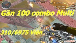 [ Bình Luận CF ] 6 Nòng VIP 7000 Viên Solo Với Hack - Tiền Zombie v4
