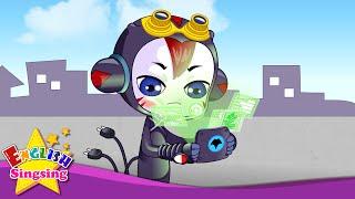 # 2 Đi thẳng - English phim hoạt hình âm nhạc - Alien của Bob Crew