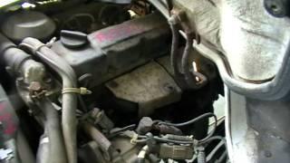 Nissan Atlas TD27 Тестирование ДВС